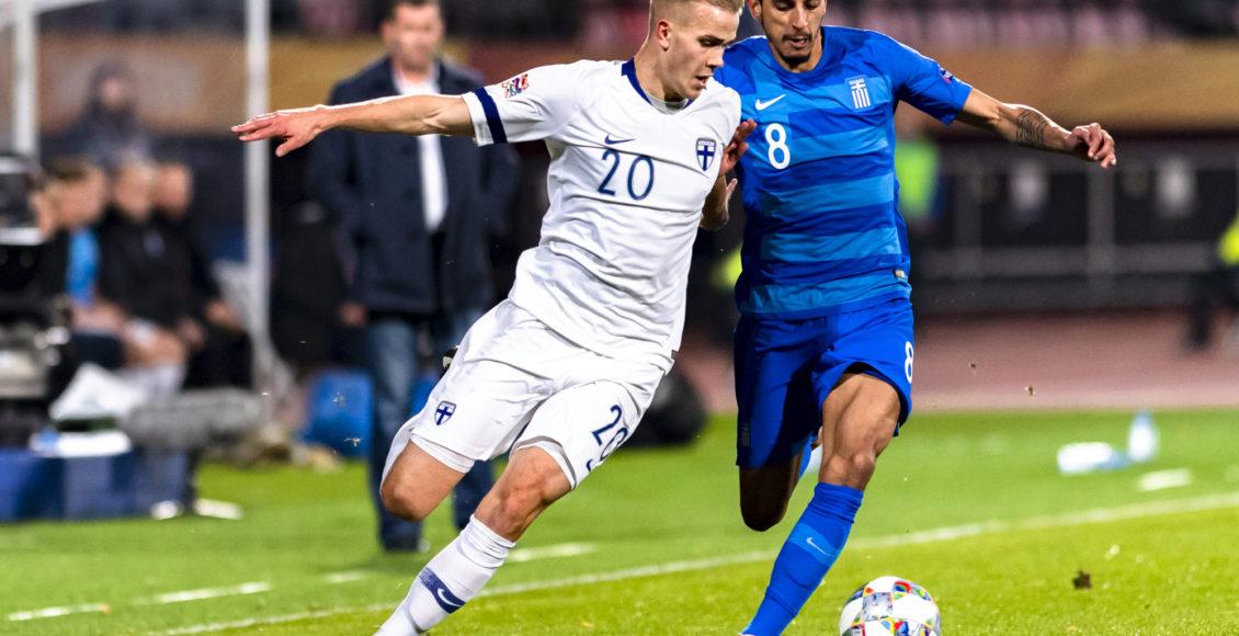 UEFA Nations League Finland v. Greece